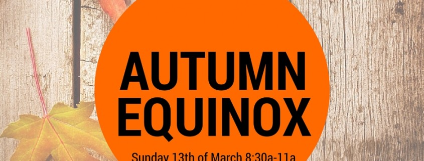 2016 Autumn Equinox flyer