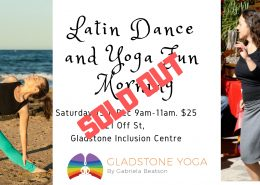 Latin Dance and Yoga Fun Morning