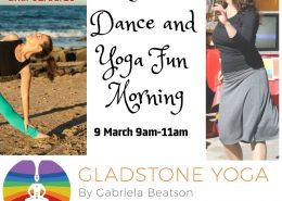 Latin Dance and yoga Social Media March 2019