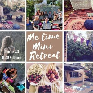 Me Time Mini Retreat Mosaic